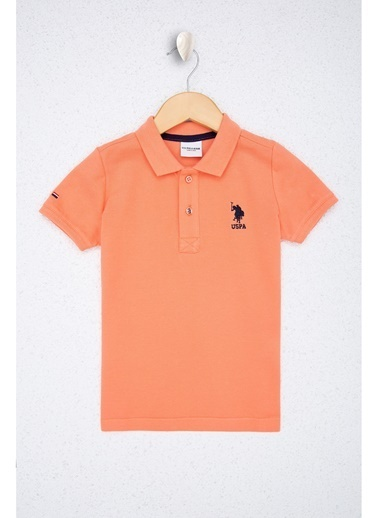 U.S. Polo Assn. U.S. Polo Assn. Somon Erkek Çocuk T-Shirt Somon